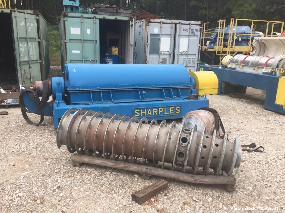 Used- Sharples P-5400 Super-D-Canter Centrifuge.