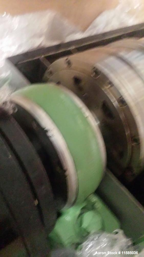 Used- Sharples P-660 Super-D-Canter Centrifuge. 316 stainless steel construction (product contact areas). Max bowl speed 600...