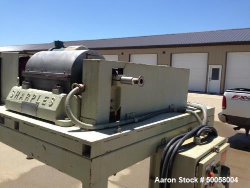 Used- Sharples P-660 Super-D-Canter Centrifuge