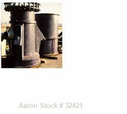 """USED: Sharples P-6800 decanter in SS construction with 8.5"""" singlelead conveyor with STC tiles, 360 deg discharge with half-..."""