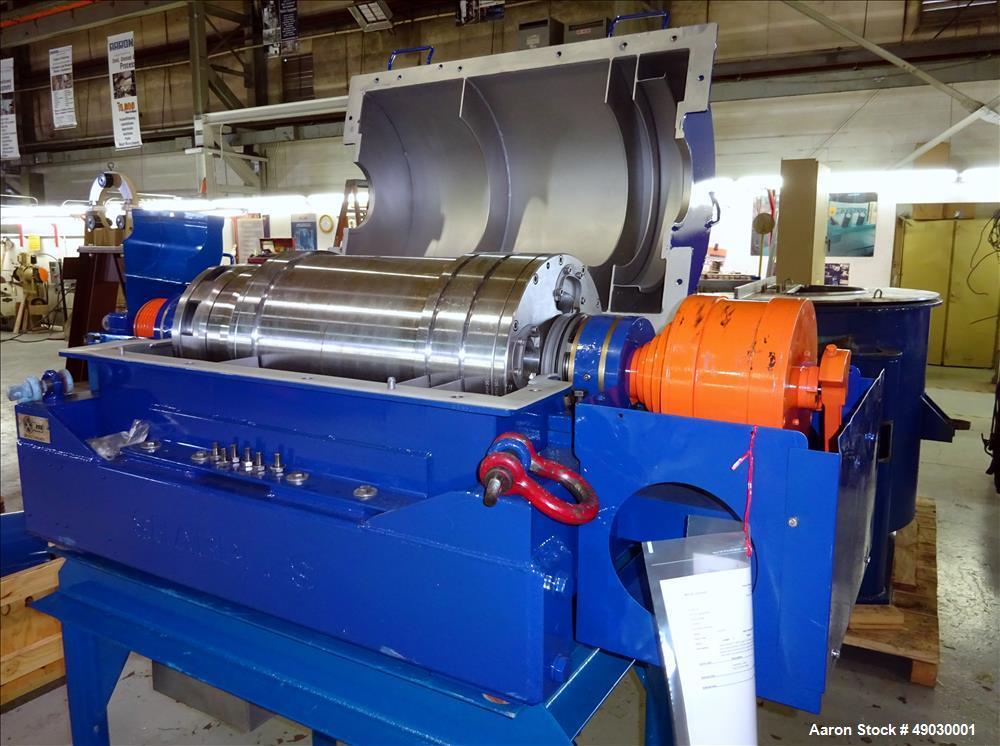 Used-Sharples P-3000 Super-D-Canter Centrifuge.