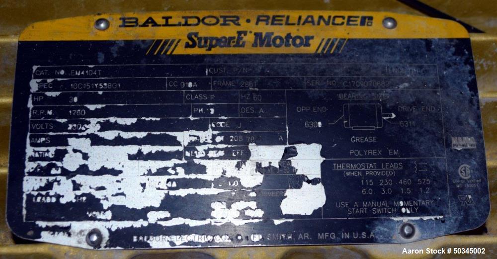 "Used- Sharples P-3000 ""Semi-Sanitary"" Super-D-Canter Centrifuge"