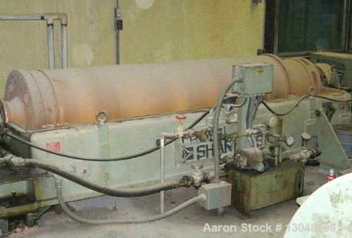 Unused-Sharples PC-81,000 Super-D-Canter Centrifuge. Stainless steel construction (product contact areas), max bowl speed 25...