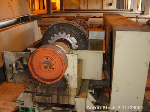 Used-Sharples PM-85000 Super-D-Canter Centrifuge. 316 stainless steel construction on product contact areas. Max bowl speed ...