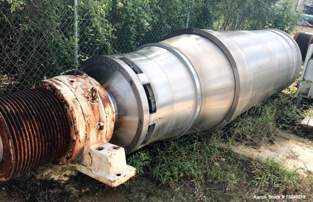 Used- Sharples PM-95000 Super-D-Canter Centrifuge Rotating Assembly