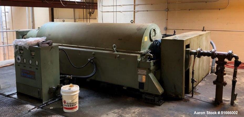 Used- Sharples Pennwalt Centrifuge