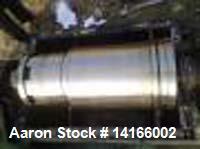 Used- Sharples/Tomoe P 1500 (MND 25) Decanter Centrifuge. Max. bowl speed: 4800 rpm. Max. spec. gravity: 2.1. Max. oper. tem...