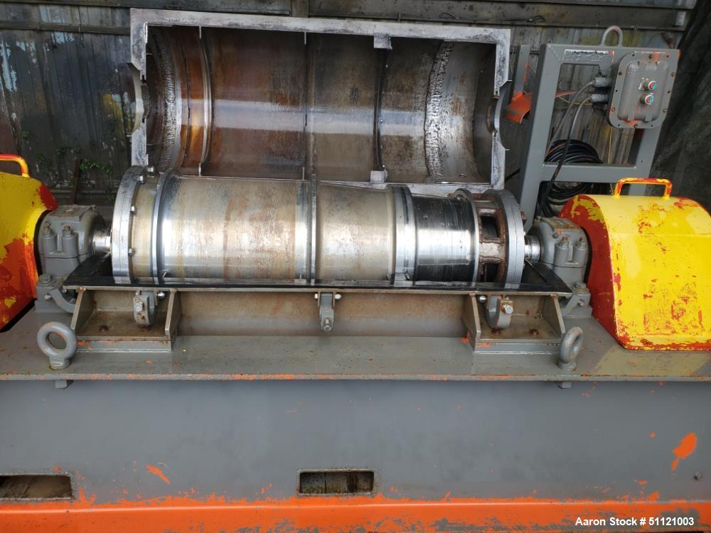 Used- United Oilfield Decanter Centrifuge, Model SS 100
