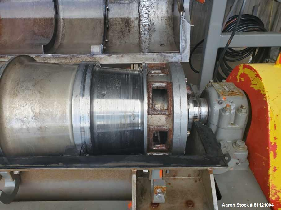 Used- United Oilfield Decanter Centrifuge, Model SS 1000