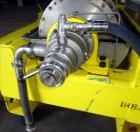 Used- Flottweg Z4D-3/401 Decanter Solid Bowl Decanter Centrifuge.