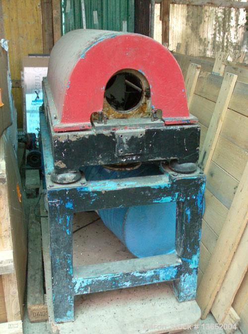 Used-Veronesi MDA-700 Solid Bowl Decanter Centrifuge. 316 Stainless steel construction on product contact parts. Max bowl sp...