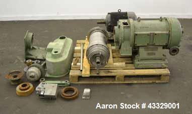 Used- Westfalia CA-220-00-00 Solid Bowl Decanter Centrifuge.