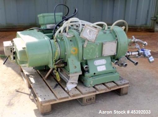 Used- Westfalia CA-221-110 Decanter Centrifuge
