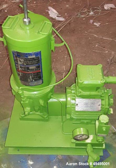 Used- Westfalia Decanter Centrifuge, Model CA 366-29-00. 40 hp electric motor. Includes oil and grease pump.