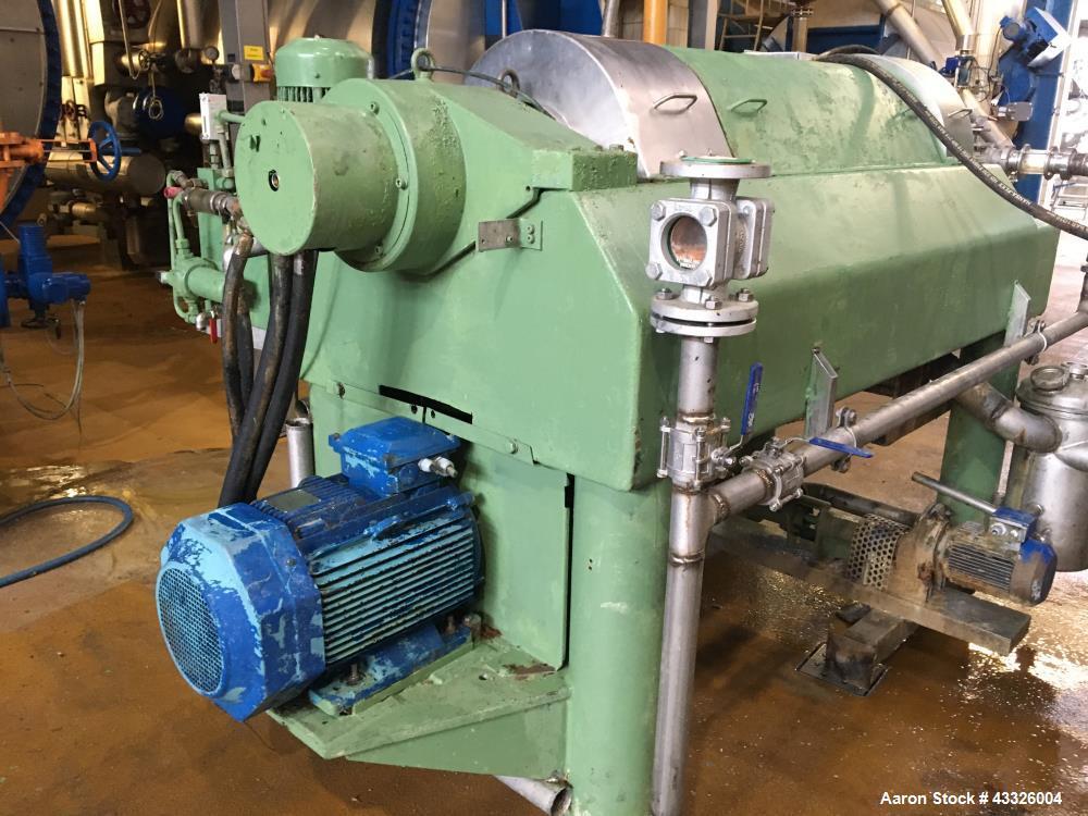 Used- Westfalia CA-450-00-19 Solid Bowl Decanter Centrifuge