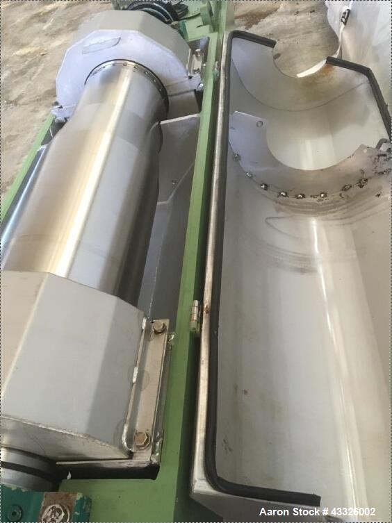 Used- Westfalia CD-305-00-00 Solid Bowl Decanter Centrifuge