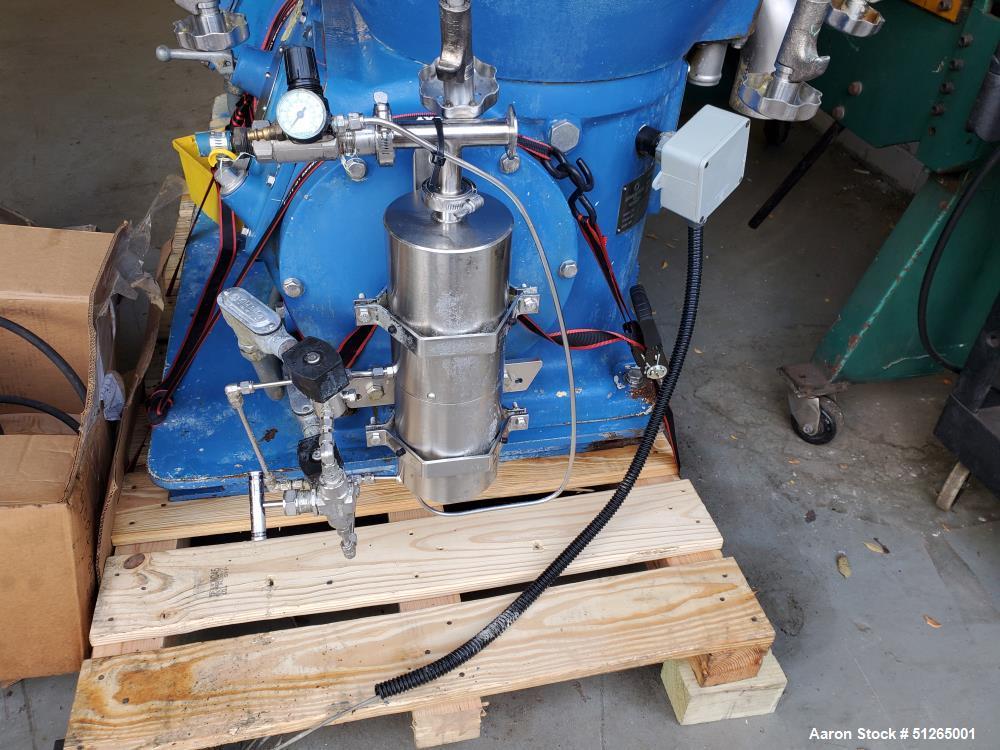 Used- Alfa Laval AFPX-213 Desludger Separator Disc Centrifuge