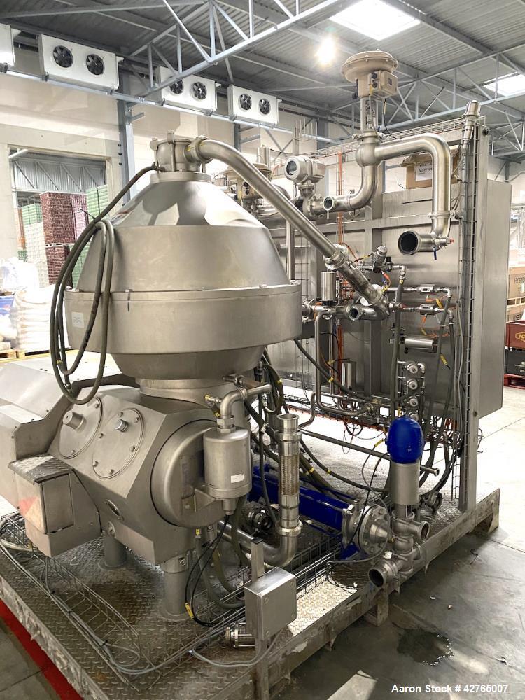 Used- Alfa Laval Brew Desludger Disc Centrifuge