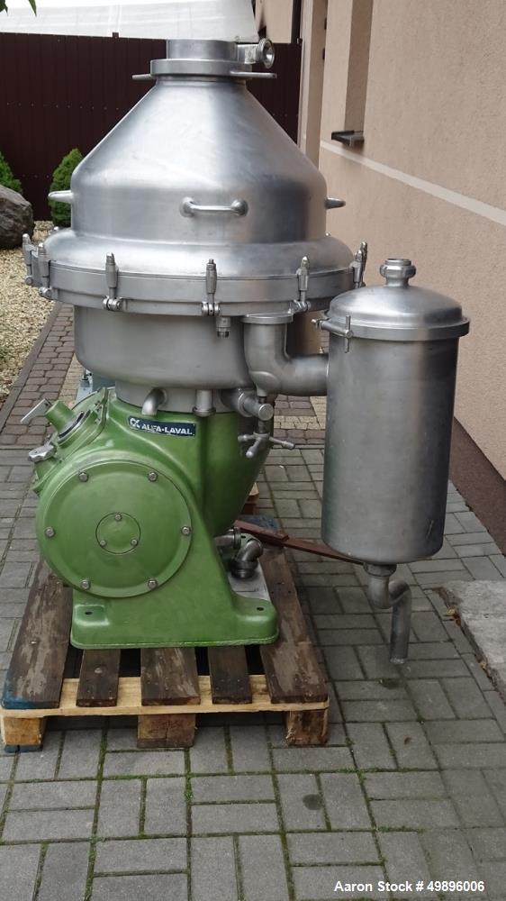 Used- Alfa Laval BRPX 214HGV-34-22-4161-1 Desludger Disc Centrifuge
