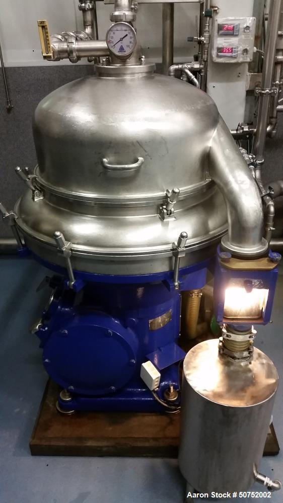 Used- Alfa Laval BRPX-313-XGT-74/4267 Desludger Disc Centrifuge