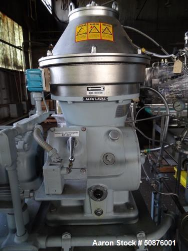 Used- Alfa Laval BTPX-205-SGD-35CDP-60 Desludger Disc Centrifuge