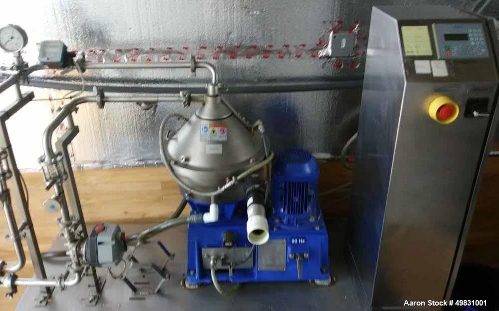 Used- Alfa Laval Clara 20 Module Centrifuge