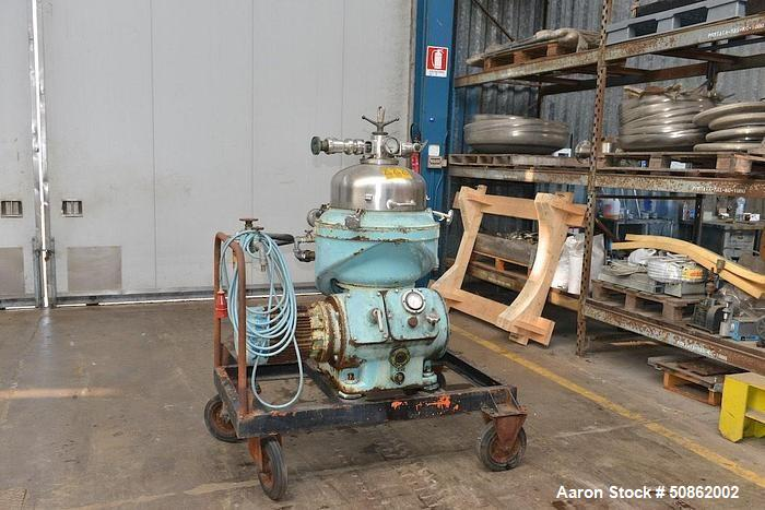 Used- Alfa-Laval CPPX-207-SGP-34 Desludger Disc Centrifuge