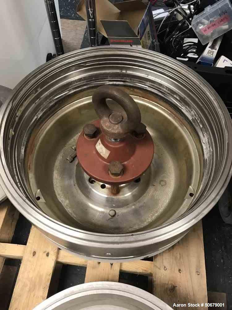 Used- Alfa Laval Desludger Disc Centrifuge, Model DMRPX810-HGV-34C.
