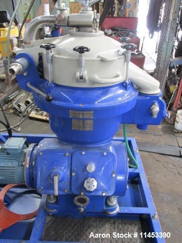 Used- Alfa Laval MAPX-207 Desludger Disc Centrifuge
