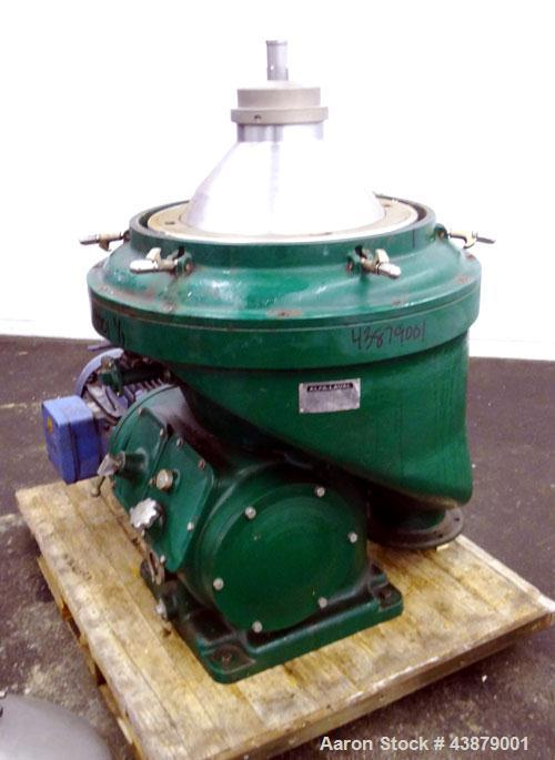 Used- Alfa-Laval Self Cleaning Marine Diesel Oil Purifier Disc Centrifuge