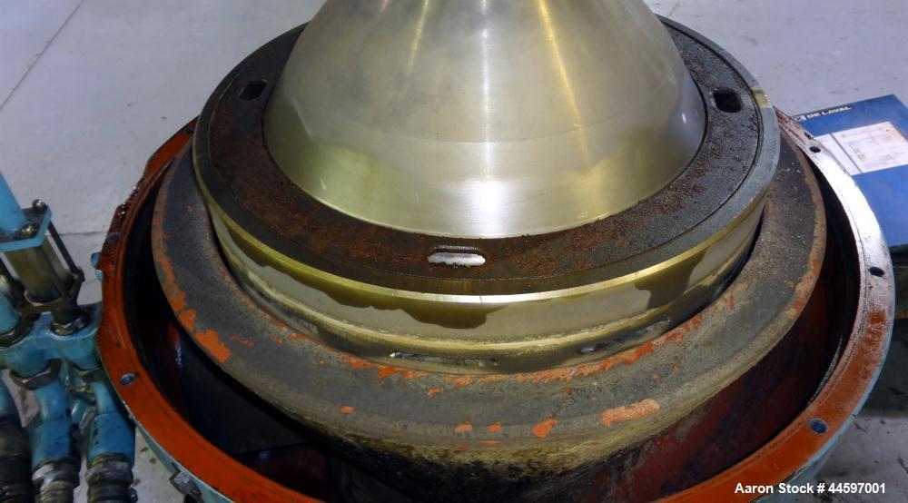 """Used- Alfa-Laval MAPX-313-TGT-29-60 """"Oil Purifier"""" Desludger Disc Centrifuge"""