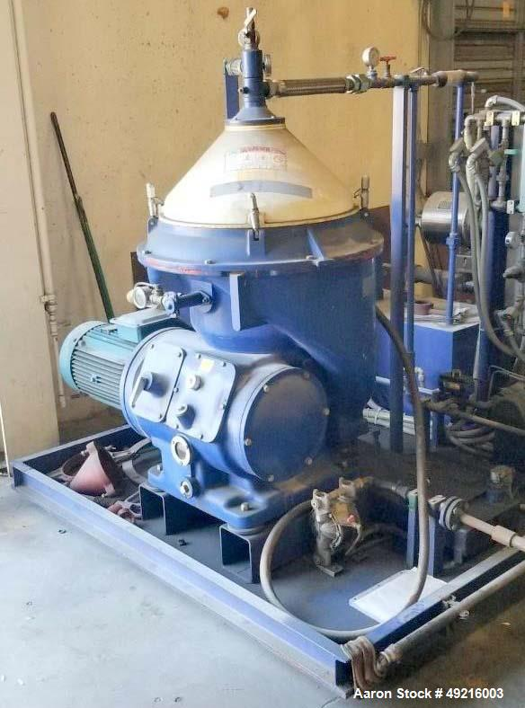 Used- Alfa Laval MOPX-210 TGT-24-60 Oil Purifier Centrifuge