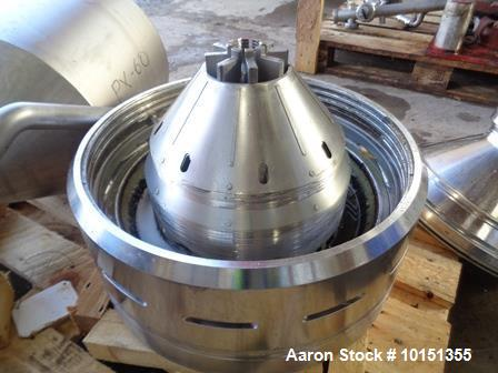Used-Alfa Laval PX-60-VGD-140G Desludger Disc Centrifuge