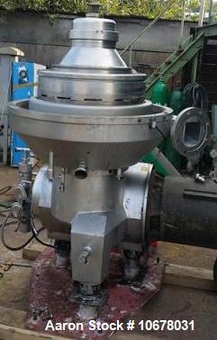 Used- Alfa Laval PX-80 Refining Desludger Disc Centrifuge