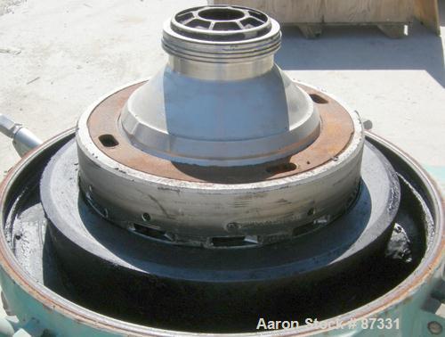 Used- Alfa Laval WHPX-505-TGD-24-60/881002 Desludger Disc Centrifuge