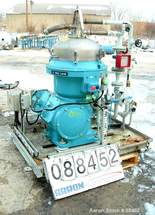 Used- Alfa Laval WSPX-207-TGP-74 Desludger Disc Centrifuge
