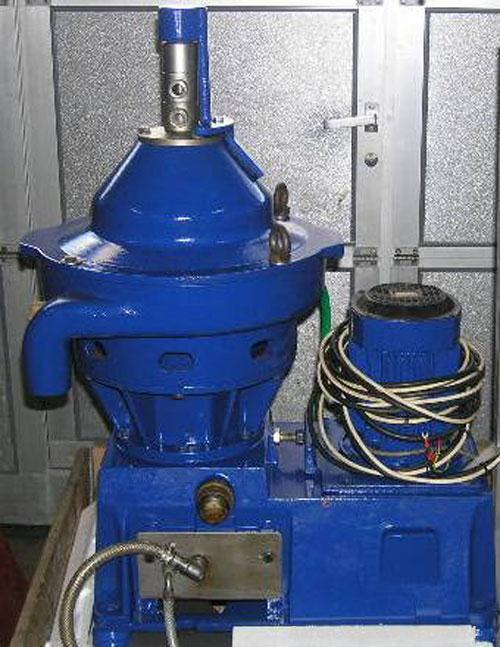 Used- Stainless Steel Alfa Laval Desludger Disc Centrifuge, WSPX-303-TGP-71