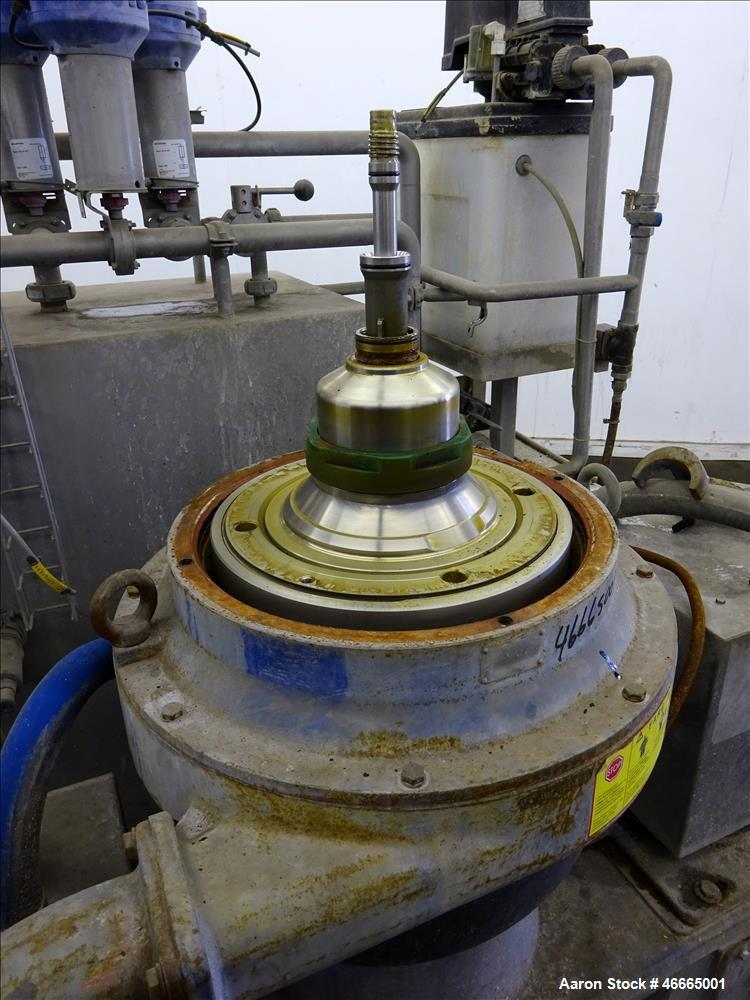 Used- Alfa Laval WSPX-307-71G Desludger Disc Centrifuge