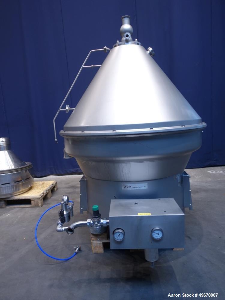 """Used-GEA Westfalia CNE-400-01-77 """"Bactofuge"""" Desludger Disc Centrifuge"""