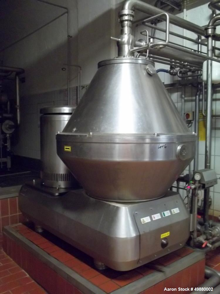 Used- KMA Sudmo-Kyffhauser Machinenfabrik Artern GmbH Disc Bowl Centrifuge