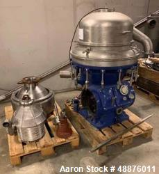 Used- Alfa Laval; Model AFPX-313 Desludger Disc Centrifuge