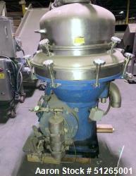 Used- AFPX-213 Desludger Separator Disc Centrifug