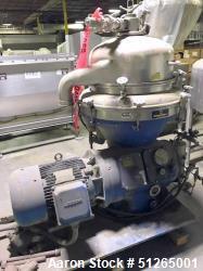 Alfa Laval AFPX-213 Desludger Separator Disc Centrifuge
