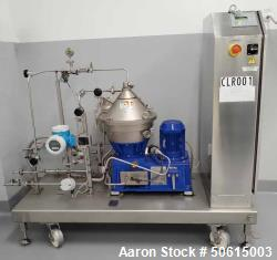 Used- Alfa Laval Clara High Speed Separator, Model 20LF