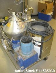 Alfa Laval LAPX-404-SGP-31G Desludger Disc Centrifuge. Stainless steel construction (product contac...