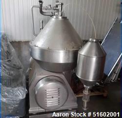 Used- Alfa Laval Desludger Disc Centrifuge