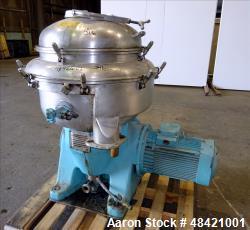 Used- Alfa Laval Centrifuge, Type SRPX-213HGV-14H Desludger Disc Centrifuge,