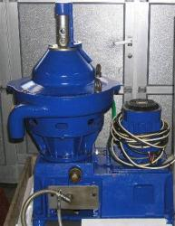 Used- Stainless Steel Alfa Laval Desludger Disc Centrifuge, WSPX-303-TGP-71
