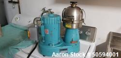 Used- De Laval Disc Centrifuge, Model Gyrotester I