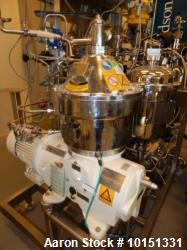 Used- GEA/Westfalia CSA-8-06-476 Desludger Disc Centrifuge